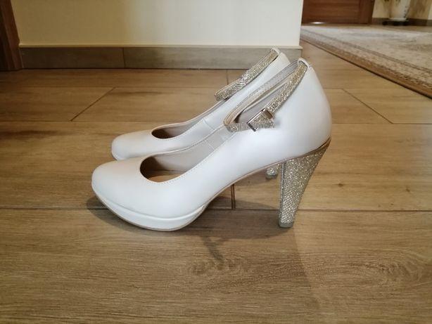 buty ślubne taneczne witt nowe 38