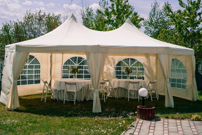 Оренда Шатра Палатка прокат шатер на фуршет на весілля