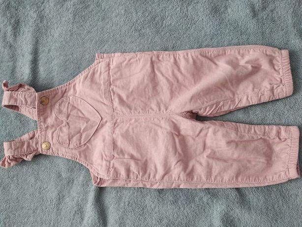 Spodnie ogrodniczki dla dziewczynki H&M