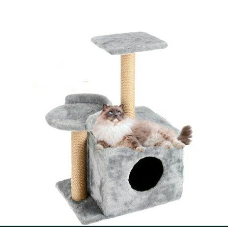 Домик-когтеточка для кошки, кота
