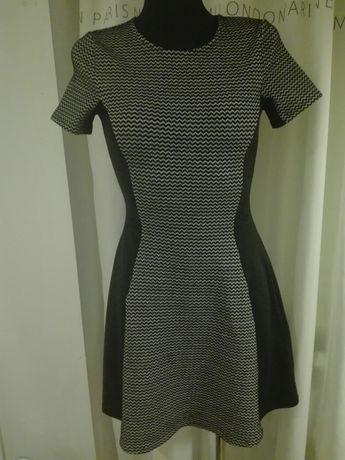 H&M sukienka ciepla 34 XS