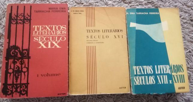 Textos Literários ASTER 3 Vol. Séc XVI, XVII, XVIII e XIX