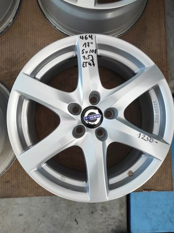 464 Felgi aluminiowe VOLVO R 17 5x108 Bardzo Ładne