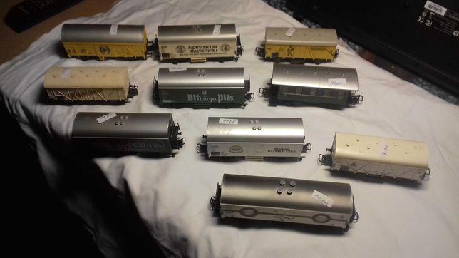 Lote de 10 Vagons da Firma Marklin H0