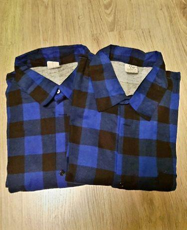 Koszule flanelowe 43/44  wzrost 170