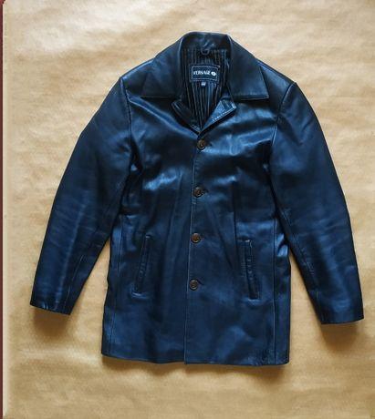 Куртка кожанная. размер 48.