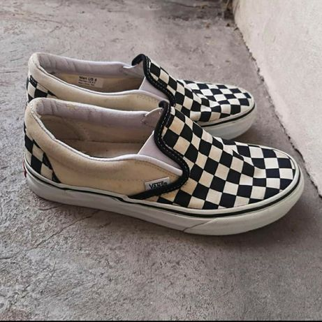 Vans slip on checkerboard trampki streetwear old skool
