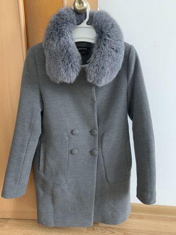 Зимове пальто з натуральним хутром
