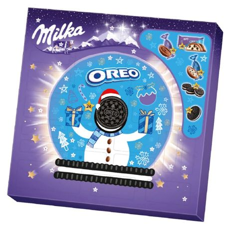 Адвент календар Milka Oreo, Zarte Momente