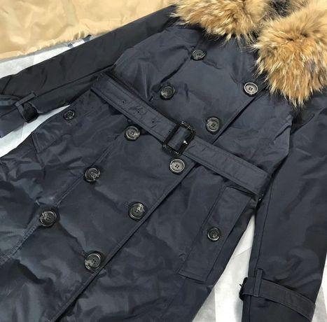 Пуховик-пальто Burberry, пух/перо
