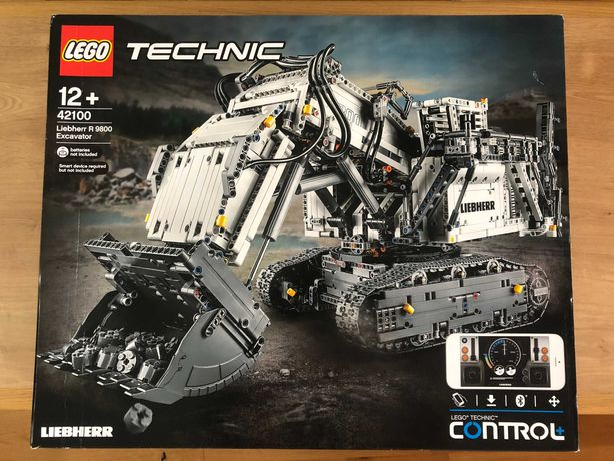 LEGO® 42100 Technic - Koparka Liebherr R 9800