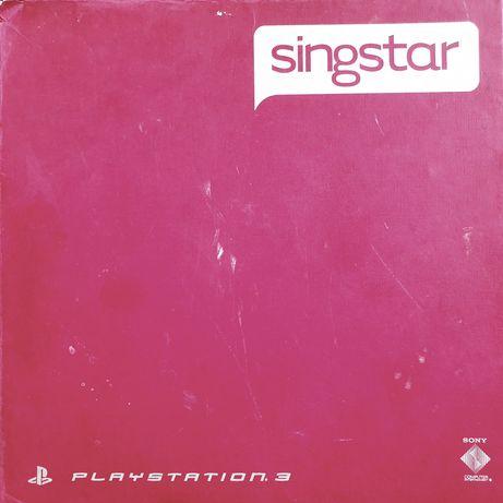 Unikatowy zestaw Singstar PL Mikrofony bezprzewodowe + dwie płyty