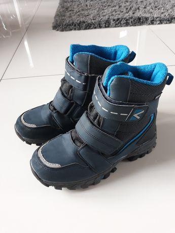 Buty zimowe chłopięce 35.