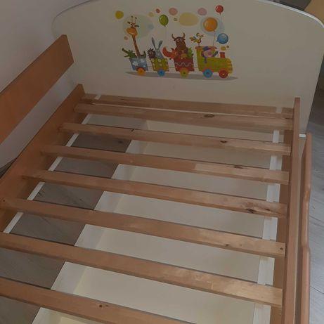 Łóżko dziecięce pojedyńcze