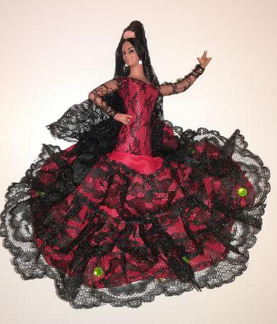 Boneca estatueta Dançarina Espanhola