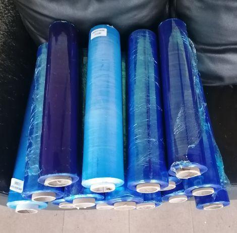Folia stretch niebieska 15 rolek