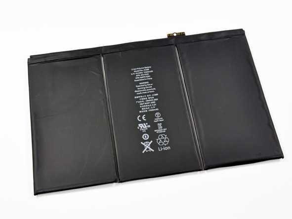 Оригинальная аккумуляторная батарея Apple iPad 3 / 4 11560 mAh