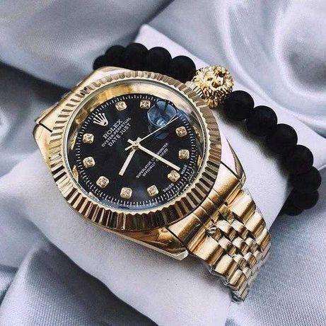 Часы Rolex Date Just, металлические часы Ролекс золотые