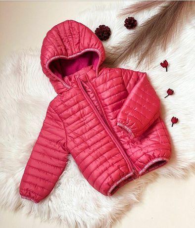 """Стеганная куртка """"Розовый фламинго"""""""