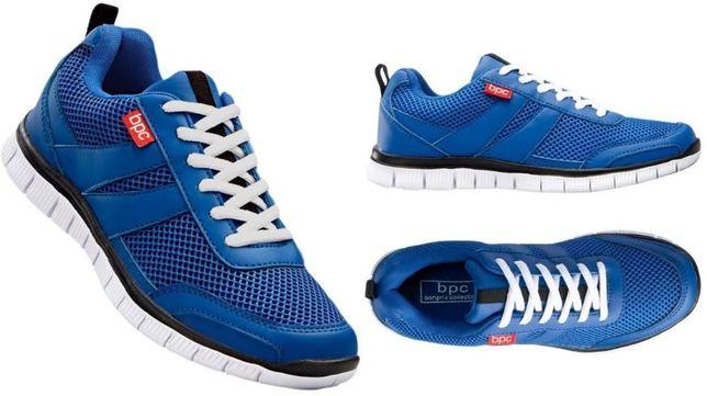 B.P.C. by BonPrix - NOWE niebieskie sportowe buty 41