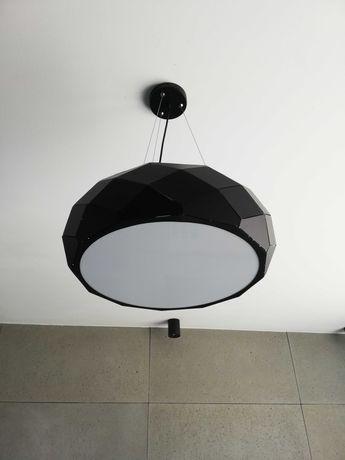 Żyrandol czarny loft, industrial