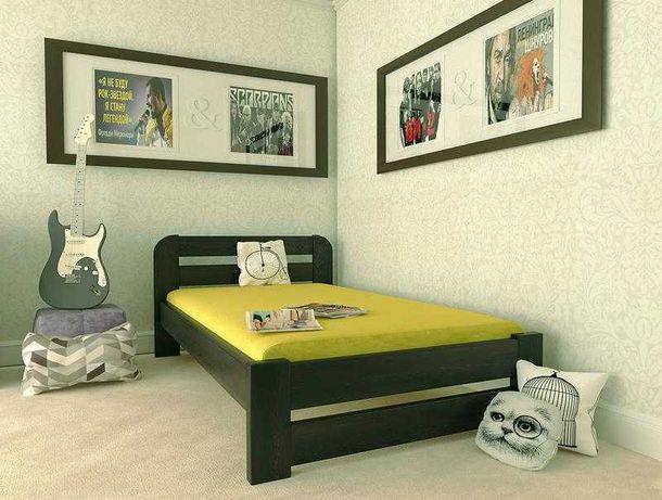 Кровать 80*190 см эко деревянная