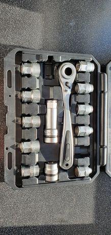 Grzechotka - Komplet przejściówek i wkładek do kluczy nasadowych