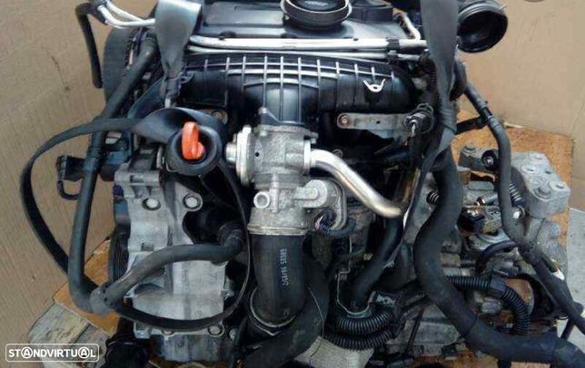 Motor Audi A3 Sportback Volkswagen Touran Golf Caddy Jetta 2.0Tdi 140Cv Ref.BKD