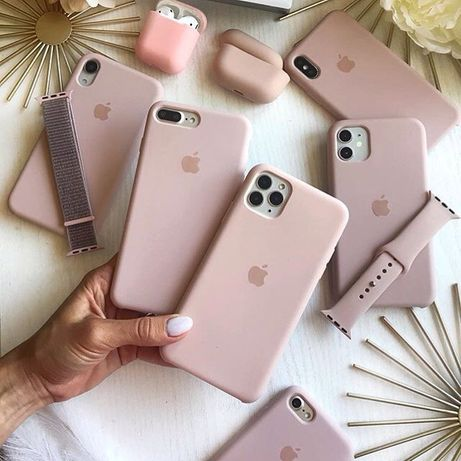 Чехол Silicone case на для Apple iPhone 6 6s 7 8 Plus X XS XR Чохол