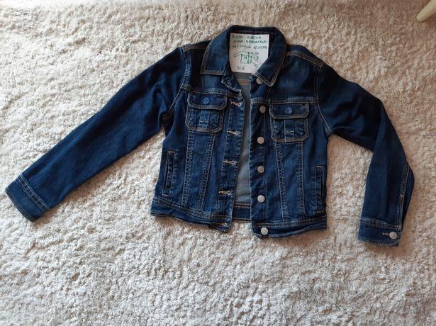 Bluza - kurtka - jeans - granatowa