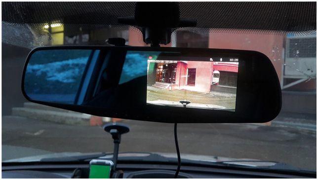 зеркало видеорегистратор для машины на 2 камеры VEHICLE BLACKBOX DVR 1