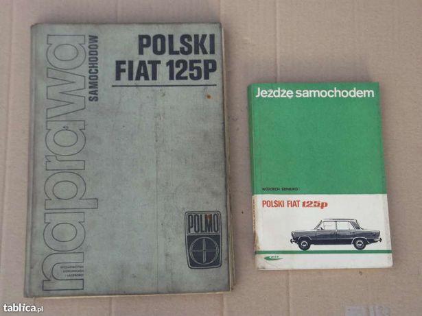 Książki obsługi Fiat 125
