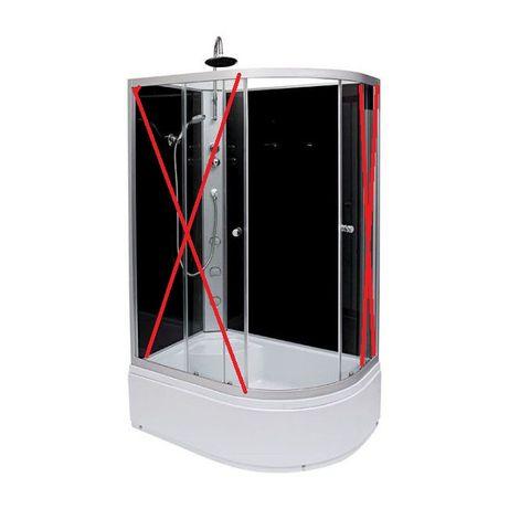 Kabina prysznicowa Brezzo Orion z hydromasażem deszczownicą!!!Okazja
