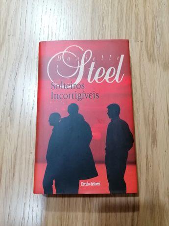 Livro capa dura - Danielle Steel - Solteiros incorrigiveis