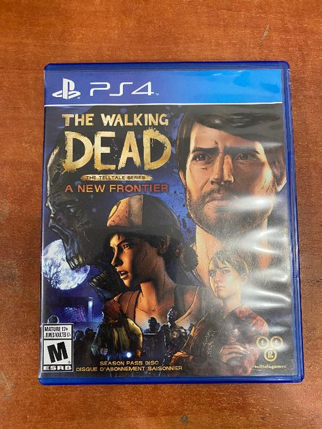 The walking dead the new frontier ps4 gra na Playstation 4
