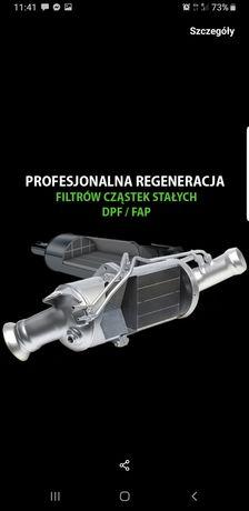 Regeneracja katalizatorów scr Dpf fap