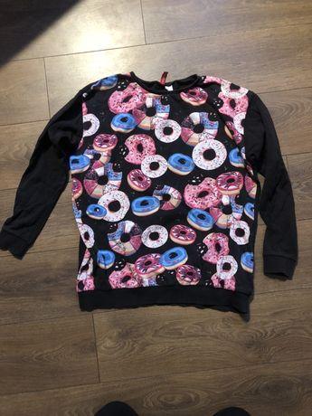 Bluza H&m w donuty rozmiar L