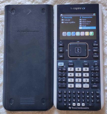 Calculadora Gráfica TEXAS TI-NSPIRE CX Conteúdos FQ e Matemática A
