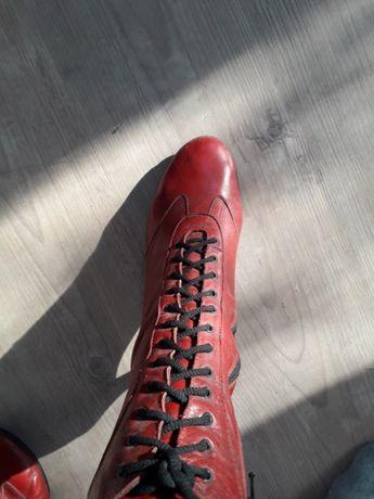 Ботинки кожаные весенние р.39