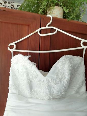 Suknia ślubna ciążowa 42