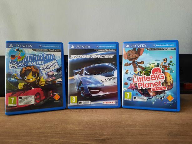 Ridge Racer Modnation Racers Little Deviants gry PS Vita Playstation