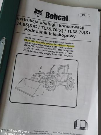 Instrukcja obslugi ladowarki Bobcat TL 34.65,TL 35.70, TL 38.70