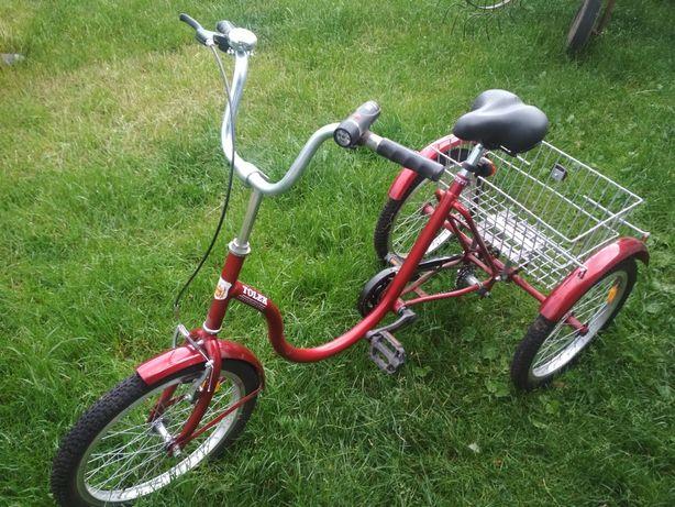 Rower trójkołowy Tolek rehabilitacyjny nowy