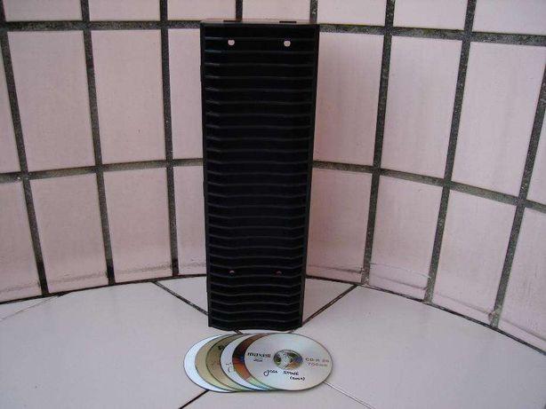 Porta CD`S em madeira com oferta