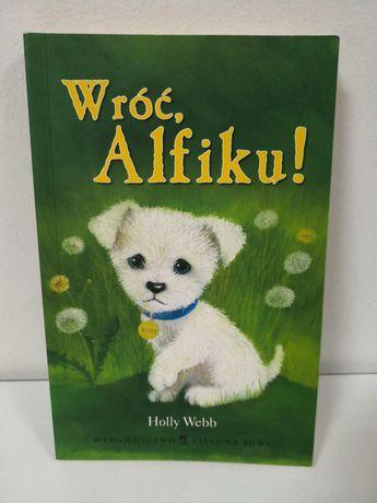Książka wróć, Alfiku