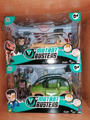 NOVOS na Caixa - Veículos e Figuras Mutant Busters Resistência