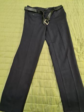 Брюки темно-синие, 36 размер