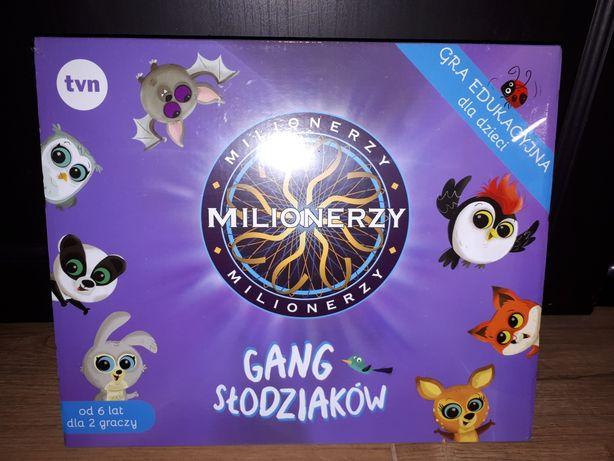 Milionerzy gra gang słodziaków