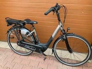Rower   elektryczny :  Gazelle Orange C7 + HMB H7 , używany