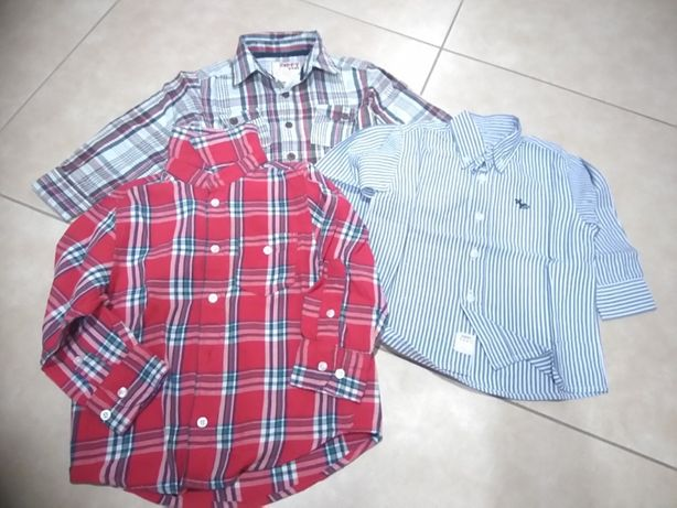 Lote de Camisas 12-18 meses